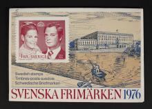 1976 Swedish Stamp Book