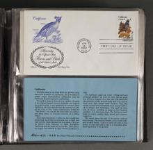 Binder Collection of First Day of Issue Stamps