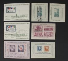 Vintage United States Souvenir Sheet Stamps