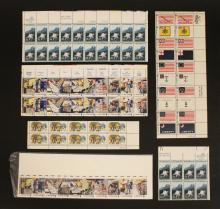 United States Flags & U.S. Postal People Stamps