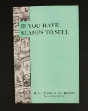 H.E. Harris & Co. Vintage 'Stamps to Sell' Book
