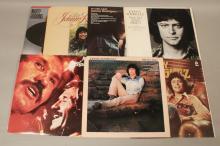 Vintage Johnny Rodriguez & Marty Robbins Records