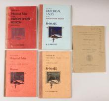 1934 Assorted Michigan History Book Lot