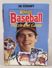 1988 Donruss 36 Baseball & Puzzle Cards Box