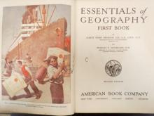 Antique Children's Study Books, Geography, Physics