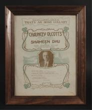 Shameen Dhu Broadway Musical Sheet Music Cover