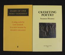 2 Seamus Heaney Poetry Books