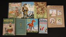 Vintage Children's Books - Heidi, Daniel Boone