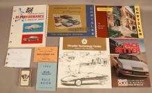 Vintage Chrysler & NASCAR Pamphlets Collection