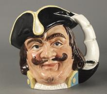 1957 Royal Doulton Capt. Henry Morgan Toby Mug