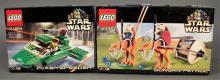 2000 Star Wars Lego Flash Speeder & Gungan Patrol