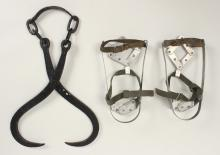 Ice Hook Tongs & Fit U Ice Snow Shoes