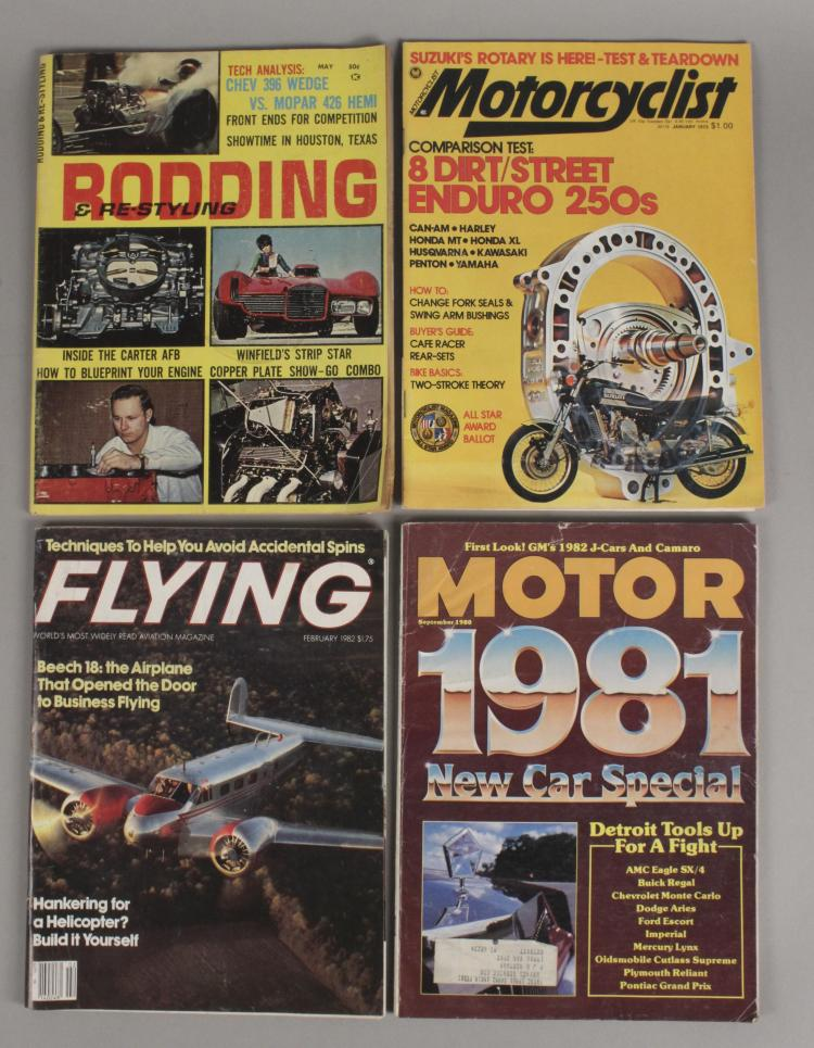 Vintage Hot Rod Magazines Lot of 11 Bagged and Boarded