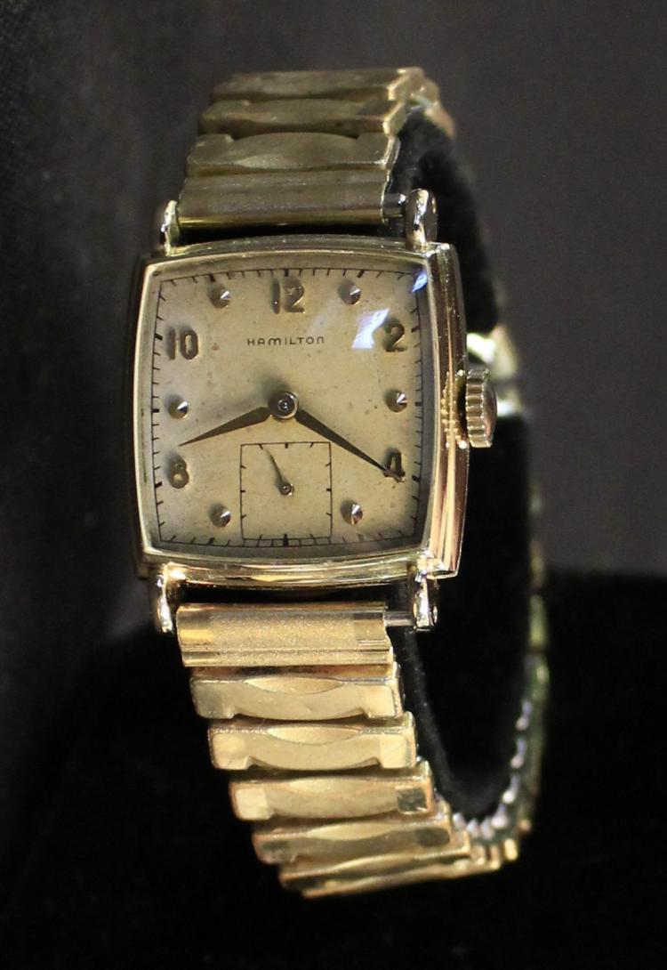 vintage 1950 s hamilton 14k gold filled