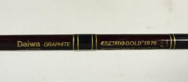 Daiwa Graphite Apollo Gold 1976 Sealine 47h Reel
