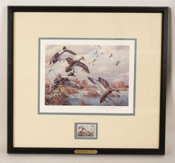 1989 Ducks Unlimited Signed Amp Numbered Print