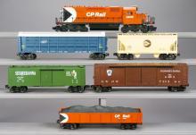 6 Lionel Prototype Train Cars - RARE