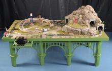 Toy Trains Unlimited Table Dealer Display 5' x 9'