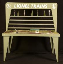 Toy Trains Unlimited Lionel Dealer Display 4' x 8'