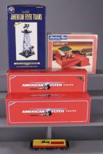 2 American Flyer Trains & 3 Accessories