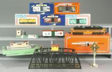 11 American Flyer Train Cars & Accessories
