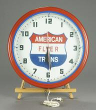 American Flyer Trains Decorative Wall Clock