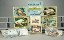 11 Bachmann Plasticville HO Scale Building Kits