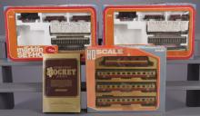 4 HO Scale Train Sets by Hornby & Marklin