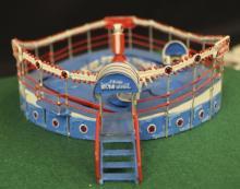 Cummons Tilt-A-Whirl Operating Carnival Diorama