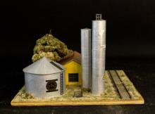 Oxon Hill Red Horse Gas & Oil Diorama