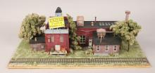 Oxon Hill United Paper Products HO Diorama