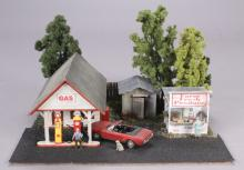 Layout Refinements Gas Station & Produce Stand