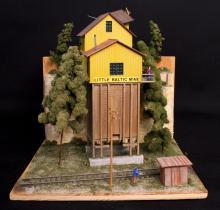 Oxon Hill Little Baltic Mine HO Diorama