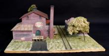 Oxon Hill Middleburg Fruit Co-Op HO Diorama