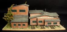 Oxon Hill Kiowa Coal Plant HO Diorama