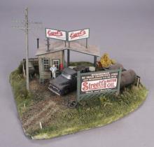 Scenic Express Earl's Oil Company Diorama
