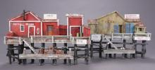 Wharf Scene Diorama by R.L. Coy