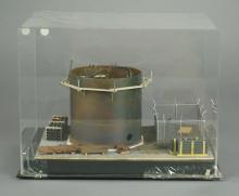 Layout Refinements Oil Storage Tank Diorama
