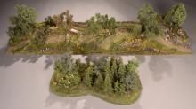 Scenic Express Farm Terrain 2-Piece Diorama