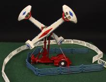 Cummons Loop-O-Plane Operating Carnival Diorama