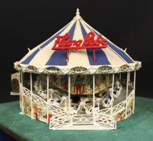 Cummons Flying Bobs Operating Carnival Diorama