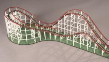 Working Coaster Dynamix Big Dipper Roller Coaster