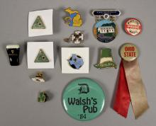 Assorted Collectible Pins - Beer - States