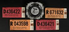 1970's Michigan Resident DNR Deer Tag Licenses