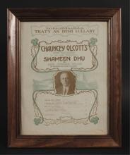Shameen Dhu Broadway Musical Sheet Music Cover