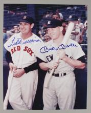 Mickey Mantle & Ted Williams Autographed Photo