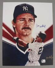 Don Mattingly Autograph Picture with COA
