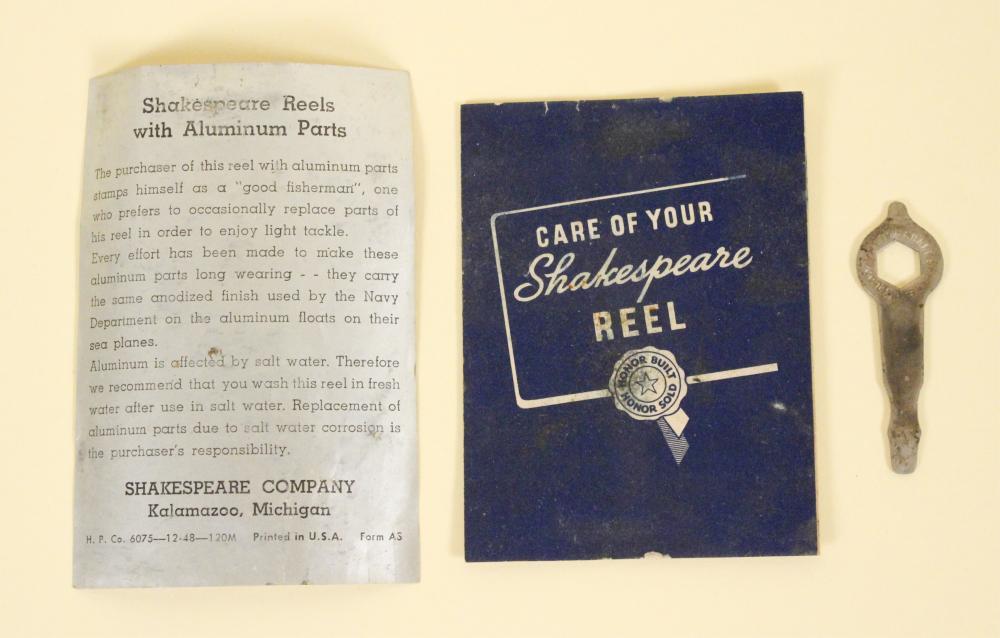Shakespeare Marhoff #1964 Fishing Reel in Box