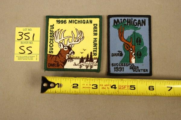 1996 Michigan Successful Deer Hunter Patch