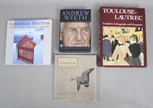 4 Art Impressionists & Art History Books